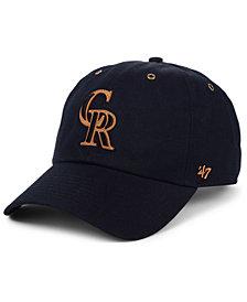 '47 Brand Colorado Rockies Townhouse CLEAN UP Cap