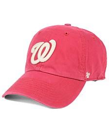 '47 Brand Washington Nationals Hudson CLEAN UP Cap