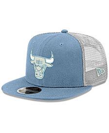 New Era Chicago Bulls Dub Fresh Trucker 9FIFTY Snapback Cap