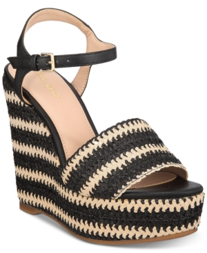 Image of Aldo Brorka Wedge Sandals Women's Shoes