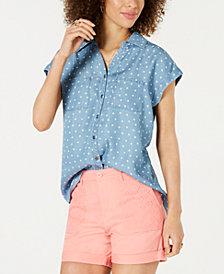 Style & Co Short-Sleeve Shirt, Created for Macy's