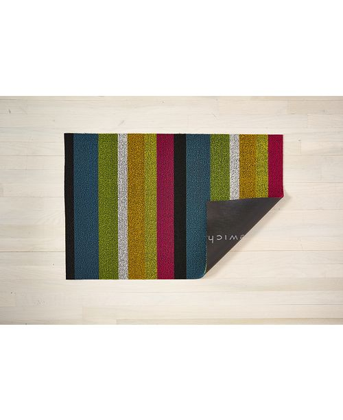 Chilewich Bold Stripe Big Floor Mat 36 Quot X 60 Quot Amp Reviews