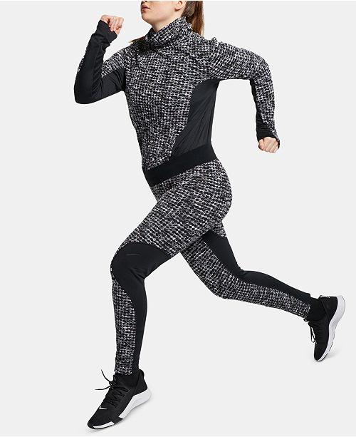 ec3ef29082a6b Nike Plus Size Pro Hyperwarm Leggings & Reviews - Pants & Capris ...