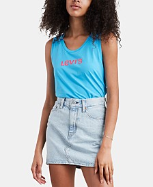 Levi's® The Muscle Graphic Tank Top