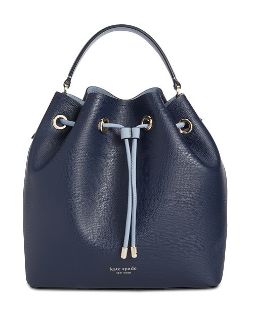 kate spade new york Vivian Small Leather Bucket Bag