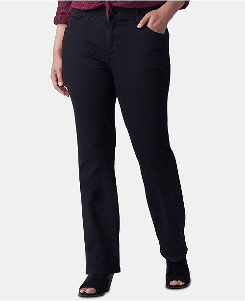 Lee Platinum Plus Size Bootcut-Leg Jeans