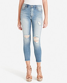 Junior's Adored Curvy High-Rise Skinny Ankle Jeans