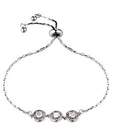 Three Bead Slider Bracelet