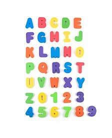 Tadpoles ABC Foam Bath Letters in Mesh Bag