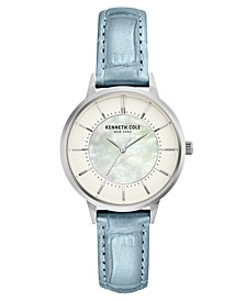 Ladie's Leather Strap with Mother Of Pearl Dial, 32MM
