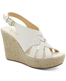 XOXO Lazaro Platform Wedge Sandals