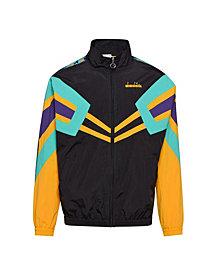 Diadora Men's MVB Logo Taped Track Jacket