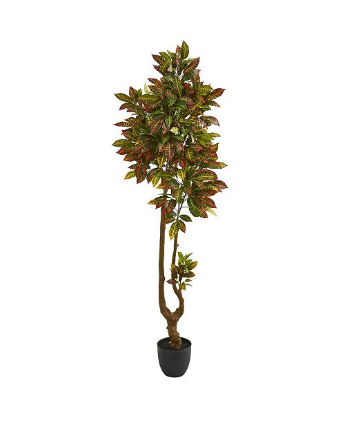 Nearly Natural 6' Croton Artificial Tree