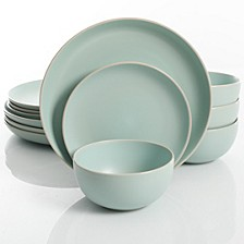 Rockaway 12-piece Dinnerware Set