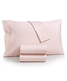 CLOSEOUT! Printed Rest 4-Pc Queen Sheet Set, 450 Thread Count 100% Cotton, Created for Macy's