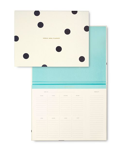 kate spade new york Citrus Twist Weekly Meal Planner