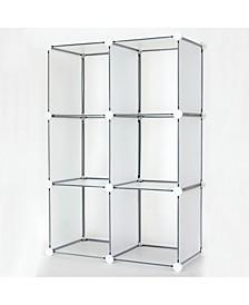 6 Cube DIY Modular Storage Unit