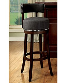 "Contemporary 24""Bar Stool with Cushion, Set of 2"