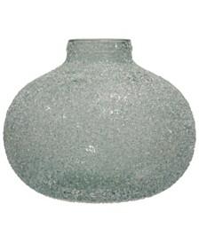 Rime Ice Soft Green Recyled Spanish Glass Vase