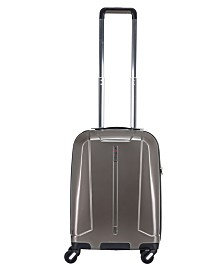 "Solite Maven Lightweight 22"" Expandable Hardside Carry-on Spinner Upright"