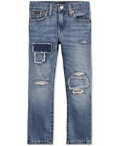 9e9ccd12 Polo Ralph Lauren Toddler Boys Sullivan Slim Distressed Cotton Jeans