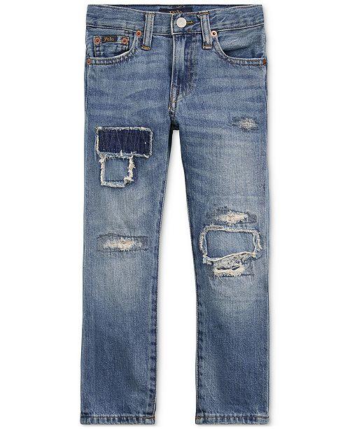 c87b3829 ... Polo Ralph Lauren Toddler Boys Sullivan Slim Distressed Cotton Jeans ...