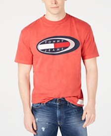 Tommy Jeans Men's Summer Oval Logo T-Shirt