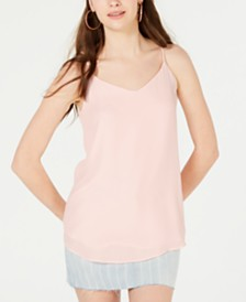 Hippie Rose Juniors' V-Neck Sleeveless Top