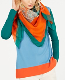 Weekend Max Mara Alsazia Printed Square Scarf
