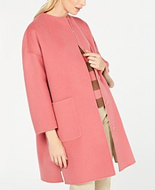 Drava Reversible Dolman-Sleeve Coat