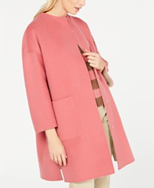 Weekend Max Mara Drava Reversible Dolman-Sleeve Coat