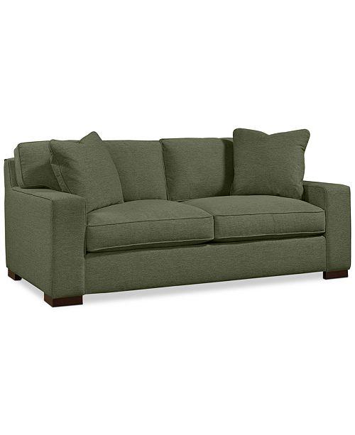"Furniture Bangor 81"" Fabric Apartment Sofa"