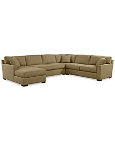 Carena 4-Pc. Fabric Sectional Sofa with Chaise - Custom Colors, Created for Macy's