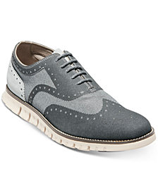 Cole Haan Men's ZeroGrand No-Stitch Oxfords