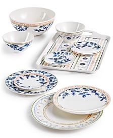 Dansk Northern Blossom Melamine Dinnerware Collection