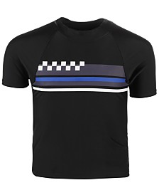Ideology Toddler Boys Chest Stripe Rash Guard, Created for Macy's