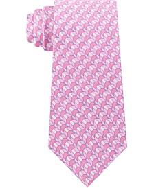 Men's Classic Geometric Silk Tie