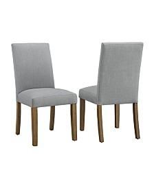 CosmoLiving by Cosmopolitan Fulton Parsons Chair 2-Pack