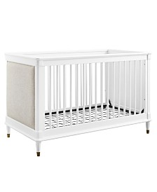 Bertini Milena 3-in-1 Upholstered Convertible Crib