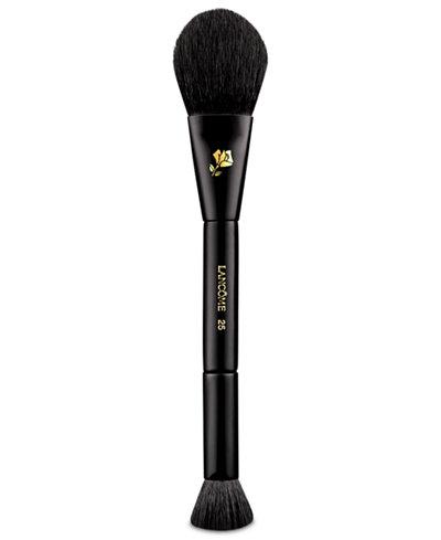 lancôme dualended cheek  contour brush  makeup  beauty