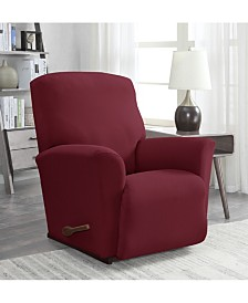 Solid Slipcover Recliner