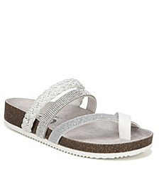 Oriel Flat Sandals