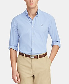 Men's Classic-Fit Performance Button-Down Shirt