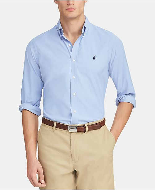 Polo Ralph Lauren Men's Classic-Fit Performance Button-Down Shirt