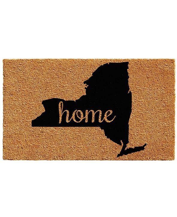 """Home & More New York 18"""" x 30"""" Coir/Vinyl Doormat"""