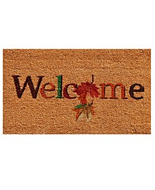"Fall Beauty 17"" x 29"" Coir/Vinyl Doormat"