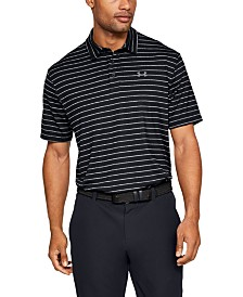 Under Armour Men's Striped Playoff Polo