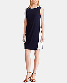 American Living Two-Tone Jersey Dress