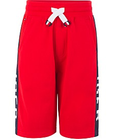 Tommy Hilfiger Big Boys Logo Stripe Drawstring Shorts
