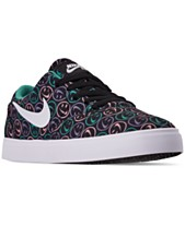 bf06d49186d9c Nike Boys  SB Check Canvas Skateboarding Sneakers from Finish Line